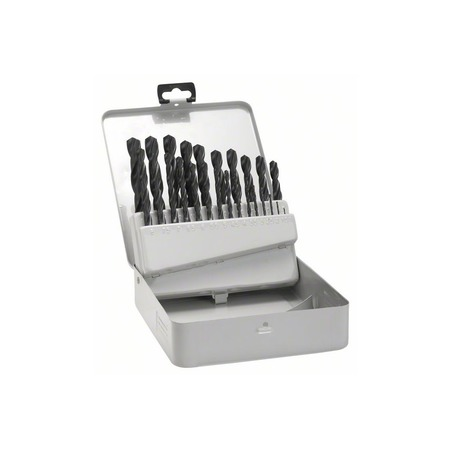 Купить Набор сверл по металлу Bosch HSS-R DIN 338 1-10 мм
