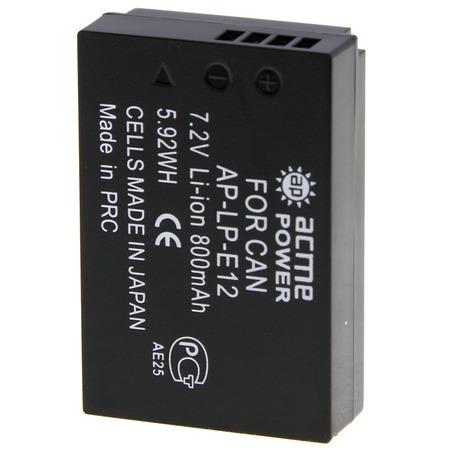 Купить Аккумулятор для фотоаппарата AcmePower AP-LP-E12