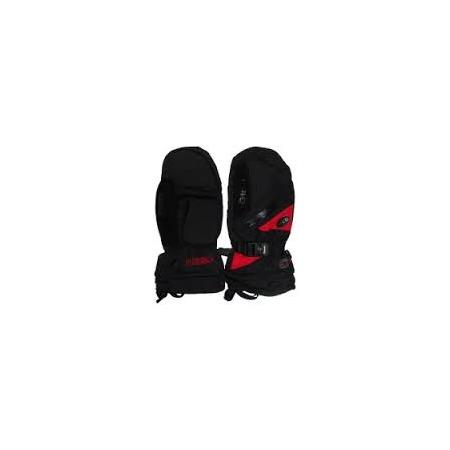 Купить Варежки GLANCE Fighter mitten (2013-14). Цвет: черный, красный