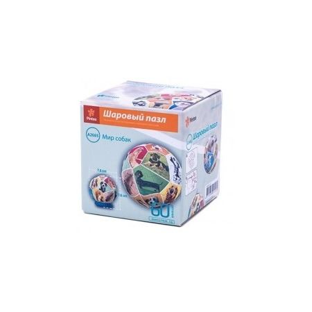 Купить Пазл шаровой Pintoo «Мир собак» 75928