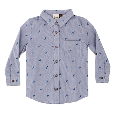 Купить Рубашка детская Fore!! Axel and Hudson Pelican All Over Print Shirt