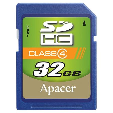 Купить Карта памяти Apacer SDHC 32Gb Class 4