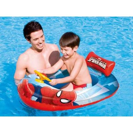 Купить Лодка надувная детская Bestway Spider-Man 98009