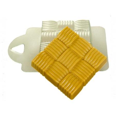 Купить Форма пластиковая Выдумщики «Квадрат плетеный»