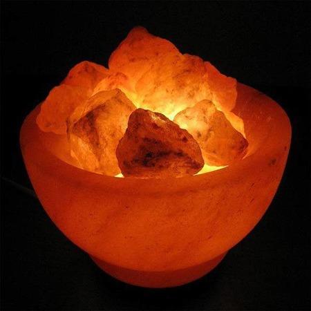 Купить Лампа солевая ZENET Чаша с кристаллами