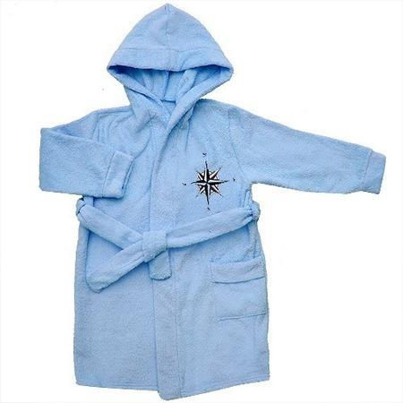 Купить Халат детский Мир 681Т87. Цвет: голубой