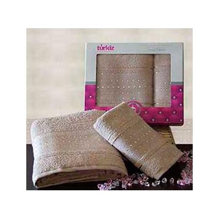 Купить Набор из 2-х полотенец для ванной TURKIZ 2КТ-0024/2