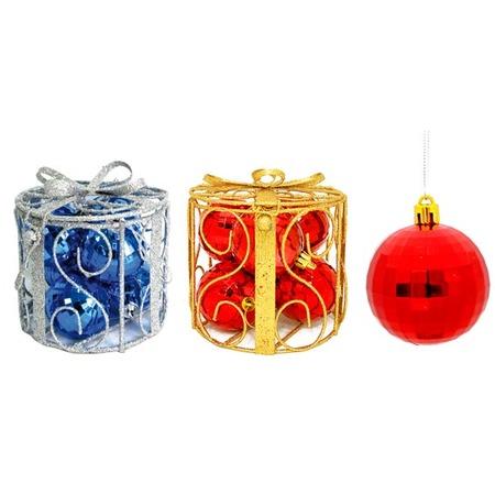 Купить Набор новогодних шаров Снегурочка «Классика». В ассортименте