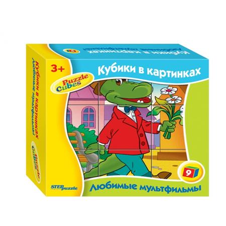 Купить Кубики развивающие Step Puzzle Любимые мультфильмы-2