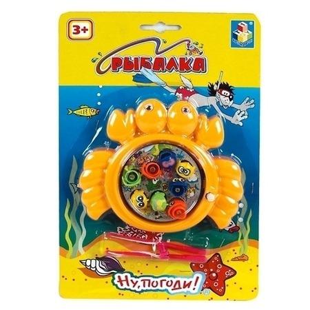 Купить Игра рыбалка 1 Toy Ну, погоди!. В ассортименте