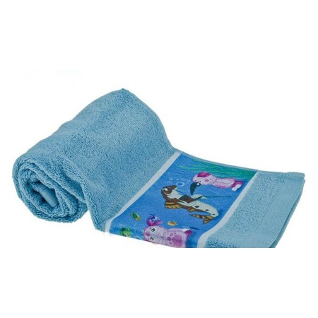 Купить Полотенце детское с бордюром Непоседа «Подводный мир»
