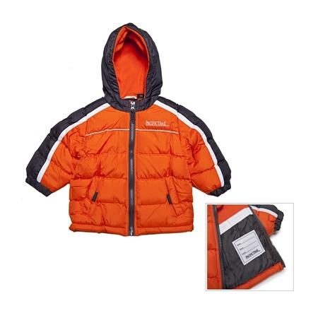 Купить Куртка утеплённая с капюшоном для мальчика PacificTrail Спайдер-orange
