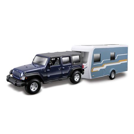 Купить Модель автомобиля 1:32 Bburago Jeep Wrangler Rubicon. В ассортименте