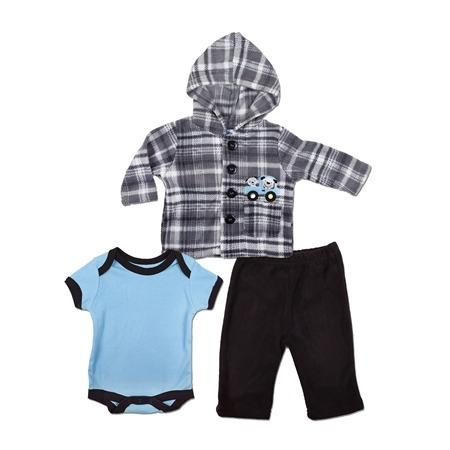 Купить Комплект для мальчика: жакет с боди и штанишки Bon Bebe FAR-108B2