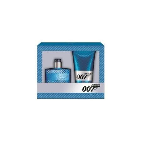 Купить Набор мужской: туалетная вода и гель для душа James Bond Agent 007 (Gold Eau De Toilette + Shower Gel), 50 мл, 150 мл