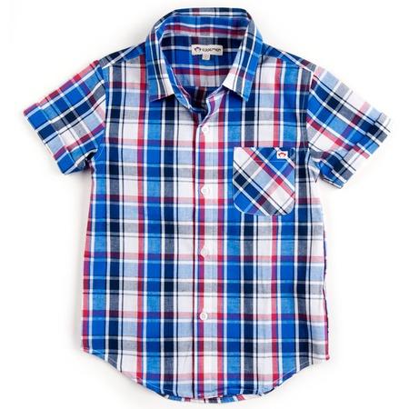 Купить Рубашка детская Appaman Tilden Shirt. Цвет: голубой
