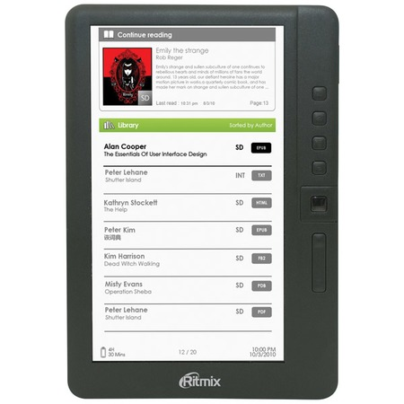 Купить Книга электронная Ritmix RBK-460