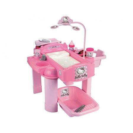 Купить Набор для кормления и купания пупса Ecoiffier Hello Kitty