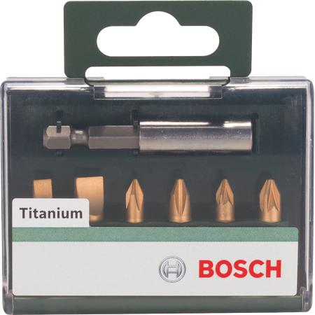 Купить Набор бит Bosch 2609255985 Titanium (HEX, PH, PZ)