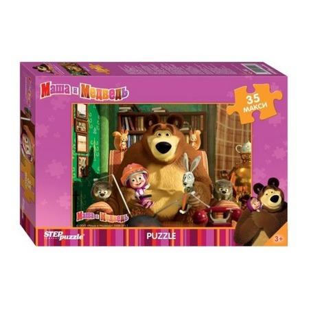 Купить Пазл 35 элементов MAXI Step Puzzle «Маша и Медведь»