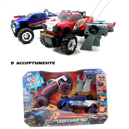 Купить Джипы боевые радиоуправляемые Jada Toys Ford & Chevy «Лазерный бой». В ассортименте