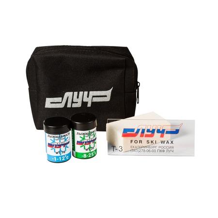 Купить Набор лыжника RAY (сумка, мазь, пробка, скребок)