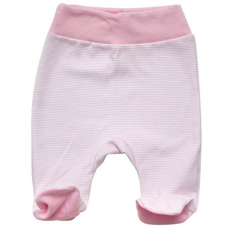 Купить Ползунки на широкой резинке IDEA KIDS «Весёлые полосатики». Цвет: розовый