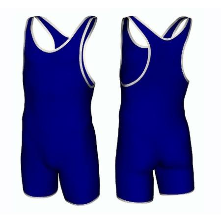 Купить Трико борцовское 6317 синее