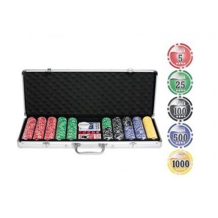 Купить Набор для покера Ningbo NUTS, 500 фишек