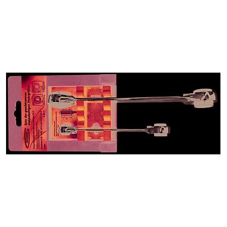 Купить Набор ключей накидных многоразмерных с трещоткой GROSS