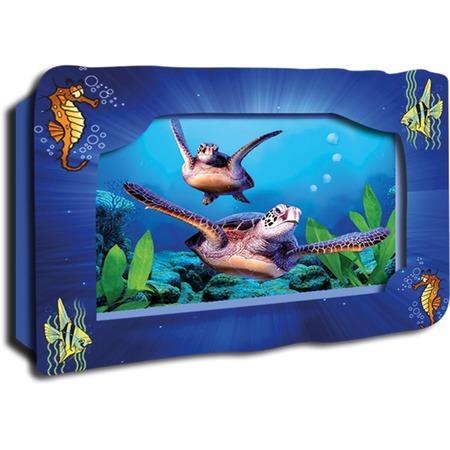 Купить Картинка объемная Vizzle Морские черепахи