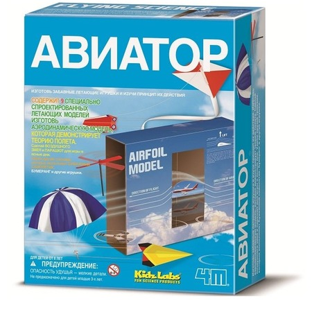 Купить Набор для изобретателей 4M «Авиатор»
