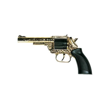 Купить Пистолет Edison Giocattoli Dakota Metall Gold Western