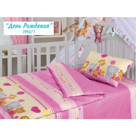 Купить Детский комплект постельного белья Облачко «День Рождения»