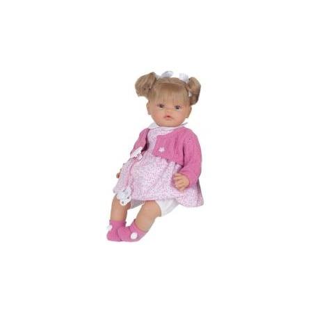 Купить Кукла Munecas Antonio Juan «Дора в розовом»