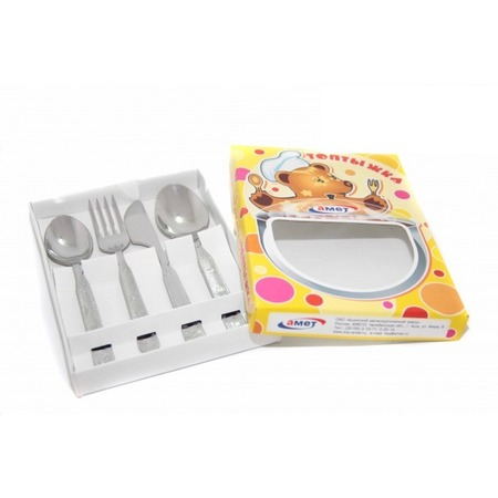 Купить Набор столовых приборов детский Амет «Топтыжка»