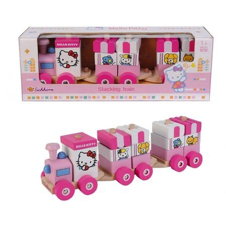 Купить Паровозик игрушечный Eichhorn Hello Kitty