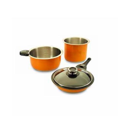 Фото Умный набор для хозяйки Delimano Smart Premium Cookware. Цвет: оранжевый