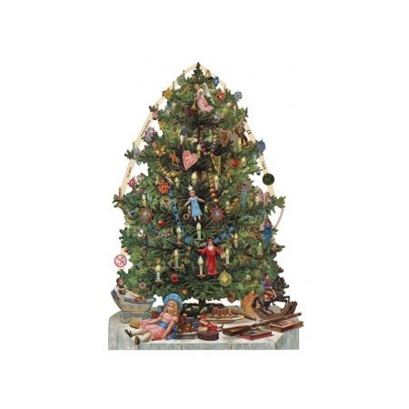 Купить Аппликации бумажные для декупажа Rayher «Новогодняя елка»