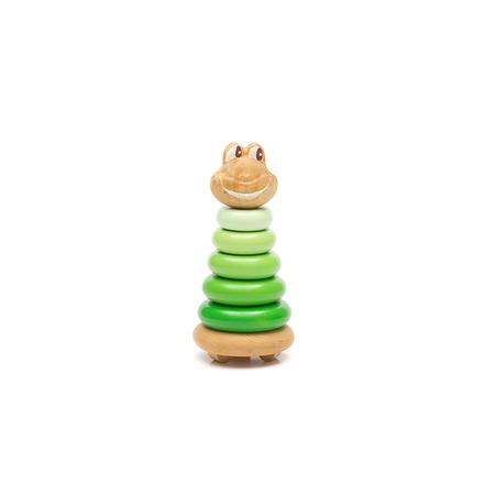 Купить Игрушка-пирамидка Томик «Лягушонок»