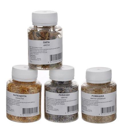 Купить Сухоцветы для мыла Мылофф Набор трав 2