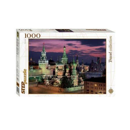 Купить Пазл 1000 элементов Step Puzzle «Красная площадь. Москва»