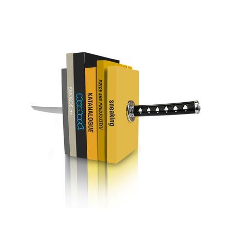 Купить Держатели для книг Mustard Katana