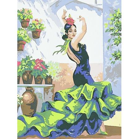 Купить Канва с нанесенным рисунком Collection D'art 10323