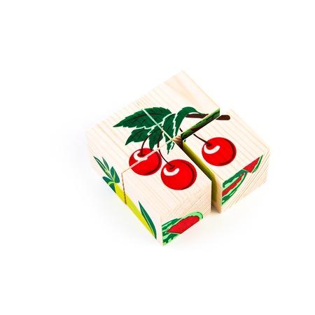 Купить Кубики Томик «Фрукты-ягоды»