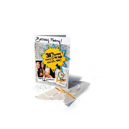 Купить Набор для hand-made поздравительных открыток Suck UK Peel n Stick
