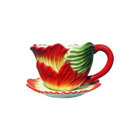 Купить Кашпо декоративное Valenсia «Лепестки мака»