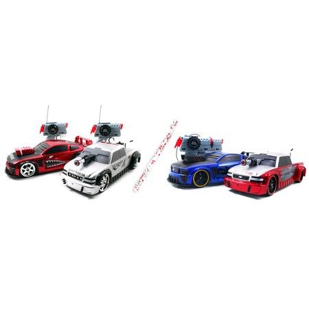 Купить Машины боевые радиоуправляемые 1:16 Jada Toys Mustang & Silverado «Лазерный бой» В ассортименте