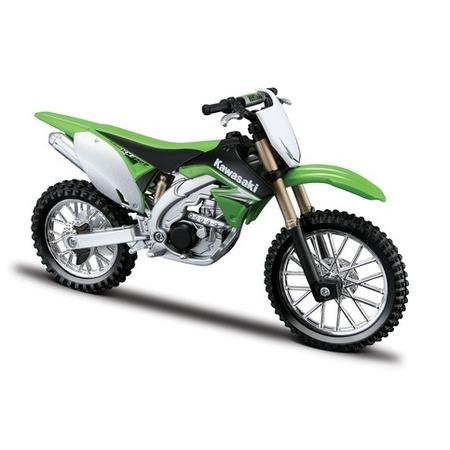 Купить Сборная модель мотоцикла 1:18 Bburago Kawasaki KX 450F