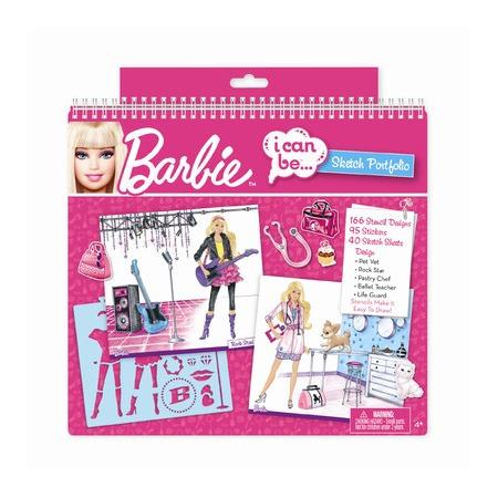 Купить Набор для творчества с портфолио Fashion Angels «Barbie-профессии»